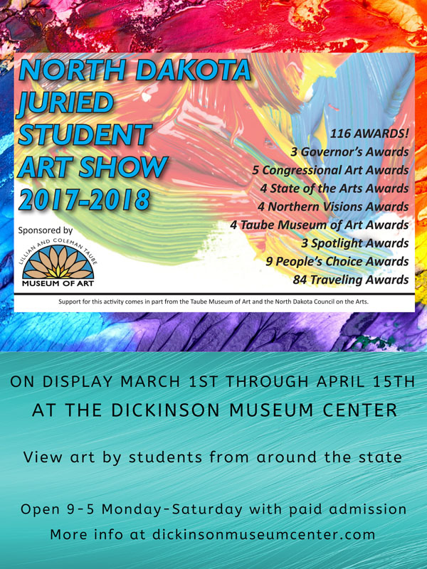 Nd Traveling Student Art Show On Display Now Dickinson